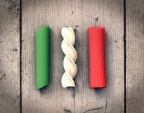 Concept of italian pasta Stock Photography