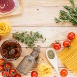 Concept italien de nourriture Image stock