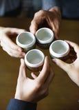 Concept japonais de culture de cérémonie de thé photo stock