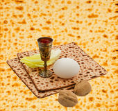 Concept of Jewish Passover holiday Stock Image