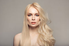 Concept keratin straightening hair. Concept of keratin straightening hair Royalty Free Stock Photography