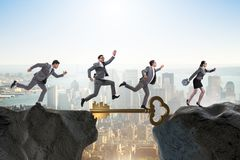 The concept with key to success illustration Stock Photo