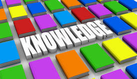 Concept of knowledge Stock Photo