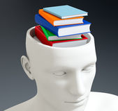 Concept of knowledge Stock Photography