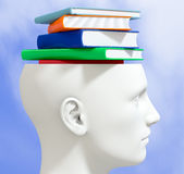 Concept of knowledge Royalty Free Stock Images