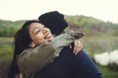 Concept l'explorant de vacances de voyage de couples Photo stock