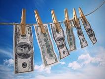 Concept laundring d'argent 3D a rendu l'illustration illustration de vecteur