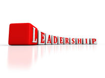 Concept LEADERSHIP text word blocks structure Stock Photo