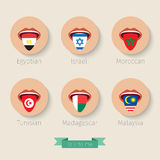Concept of learning languages. Stock Image