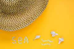 The concept of leisure travel in the summer Royalty Free Stock Image
