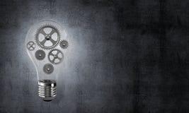 Concept lightbulb als symbool van nieuw idee Royalty-vrije Stock Afbeeldingen