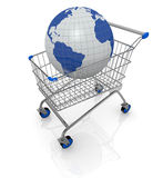 Concept of on line shopping Royalty Free Stock Photos