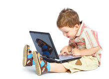 Concept of little businessman Stock Photo