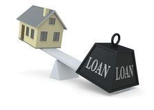 Concept of loan Stock Image