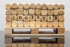Concept logistic Royalty Free Stock Photography