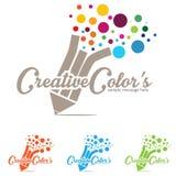 Concept Logo Stock Image