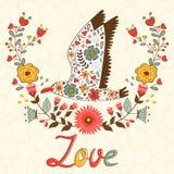Concept  love card Royalty Free Stock Photos