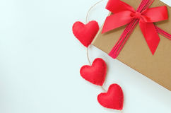 Concept for Love or Saint Valentine Day. Royalty Free Stock Image