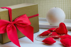 Concept for Love or Saint Valentine Day. Royalty Free Stock Photo