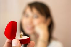 Concept love of Valentine  Marry Royalty Free Stock Photo
