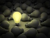Concept lumineux d'affaires d'idée Image stock