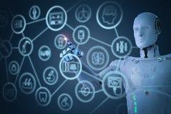 Concept médical de technologie Image stock