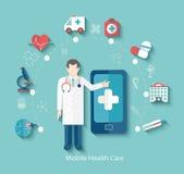 Concept médical, infographic Photos stock