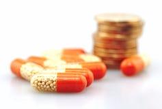 Concept médical, médecine de drogue photographie stock libre de droits