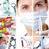 Concept médical/soins de santé Images libres de droits