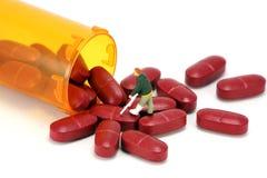 Concept : Médicaments délivrés sur ordonnance photographie stock libre de droits