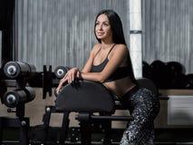 Concept: macht, sterkte, gezonde levensstijl, sport Krachtig, bij stock foto's
