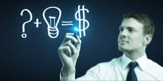 Concept making money Stock Photos