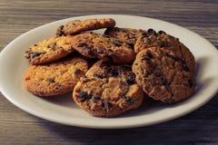 Concept malsain de vacances de boulangerie cuit au four par biscuits de sucrerie de consommation de perte de poids saine fraîche  photographie stock