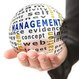 Concept of management in business Stock Photos