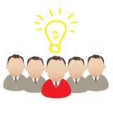 Concept, mass media, virus marketing, idea Stock Images