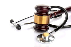 Concept medical lawsuit Royalty Free Stock Images