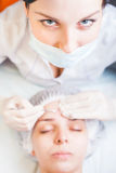 Concept of medical treatment of rejuvenation and skincare Stock Image