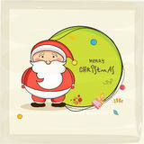 Concept of Merry Christmas celebrations. Stock Images
