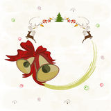 Concept of Merry Christmas celebrations. Stock Photography