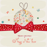 Concept of Merry Christmas and Happy New Year celebrations. Stock Images