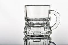 Concept met glazen op witte achtergrond II stock afbeeldingen