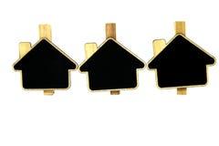 Concept met Huis Stock Fotografie