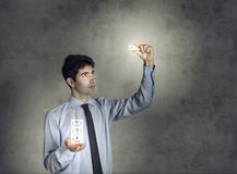 Concept of Modern E-Business Stock Images