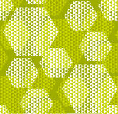 Concept modern geometry hexagone pattern Royalty Free Stock Images