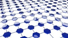 Concept modern netwerk Royalty-vrije Stock Afbeeldingen