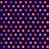 Concept modern polka dot seamless pattern Royalty Free Stock Photos