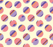 Concept modern polka dot seamless pattern, Royalty Free Stock Images