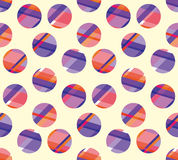 Concept modern polka dot seamless pattern Stock Images