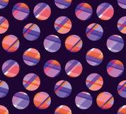 Concept modern polka dot seamless pattern Stock Image