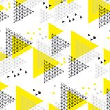 Concept modern style geometry design seamless pattern. Stock Images